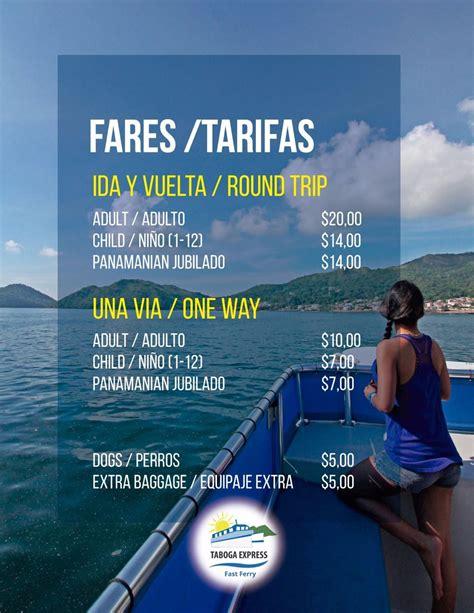 Tickets – Taboga Express