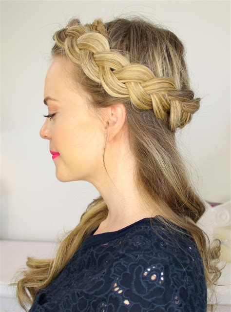 popular crown braid hairstyle ideas  haircuts
