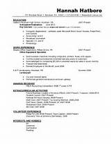 Master Degree Master Degree Resume Sample