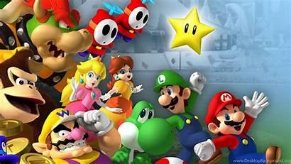Mario Luigi 1080p Wallpapers Backgrounds Bros Super