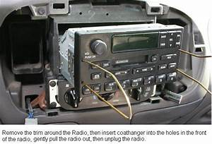2001 Ford Focus Radio Removal Tool