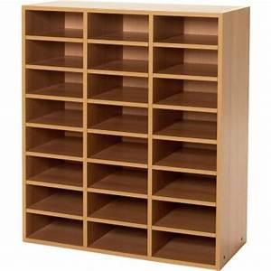 meuble de tri du courrier 24 cases meuble a courrier With meuble 9 cases ikea 19 table a basse