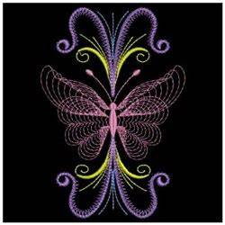 Neon Butterflies Embroidery Designs Machine Embroidery