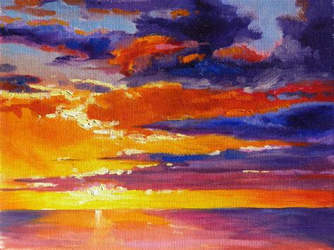 sharon lynn williams art blog sunset  superior