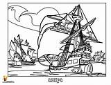Pirate Ship Coloring Pages Colouring Sunken Sheet Boys Cartoon Template Sinking Transportation Ships Printable Drawing Yescoloring Getcoloringpages Popular Clip Related sketch template