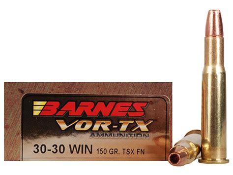 Barnes Vor-tx Ammo 30-30 Winchester 150 Grain