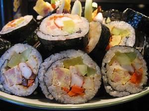 Korean Snack and Street Food - Kimbap