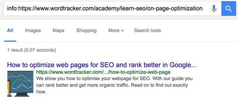 How Seo Web Page Rank Higher Wordtracker