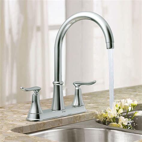 Quinn Kitchen Faucet by Moen Quinn 2 Handle Kitchen Faucet R 233 No D 233 P 244 T