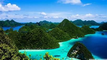 Indonesia Islands Water 4k Raja Wallpapers Ampat