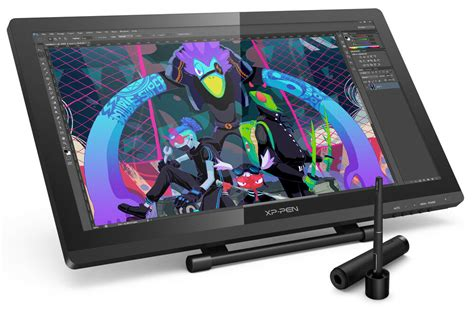 xp  artist  fhd art drawing tablet graphic monitor