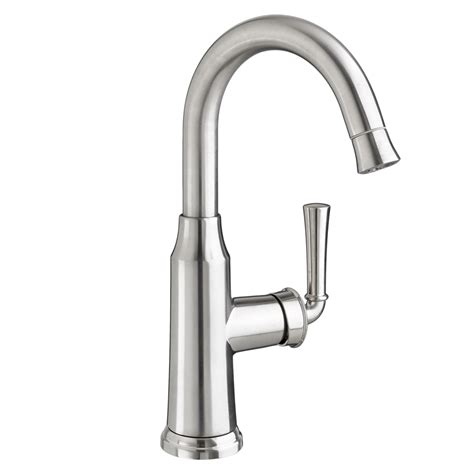 portsmouth  handle high arc pull  bar sink faucet