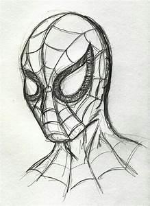 Spiderman drawing   Easy Drawings   Pinterest   Drawings ...