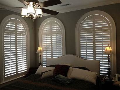 Window Treatments Shutters Bedroom Windows Bedrooms Arched