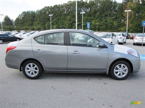 grey nissan versa magnetic gray metallic 2012 nissan versa 1 6 sl sedan