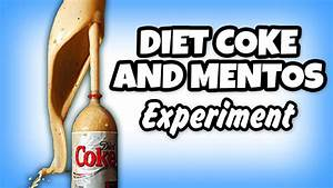 Diy Diet Coke And Mentos Eruption Science Experiments