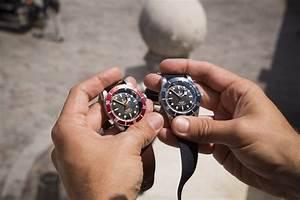 tudor black bay blue test revue photos exclusives et With robe fourreau combiné avec bracelet nato tudor