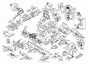 Dixon Ztr 3304  2000  Parts Diagram For Chassis