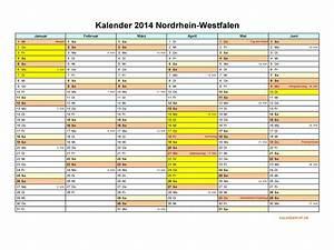 Ferien Nrw 2018 19 : kalender 2014 nordrhein westfalen kalendervip ~ Buech-reservation.com Haus und Dekorationen