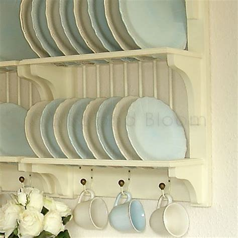 cream plate rack seconds bliss  bloom