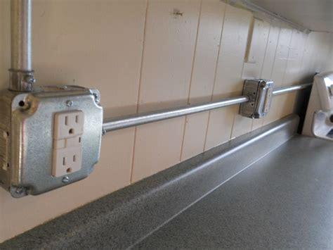 Metal Conduit Wiring Light Electricity Pinterest