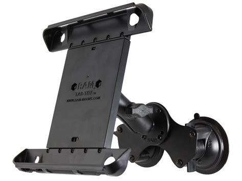 ram mount ipad air  dual suction cup car windscreen mount