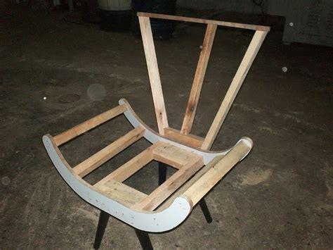 Estrutura Cadeira Puff Poltrona Decorativa Pe Palito.