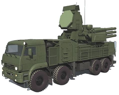bureau direction design pantsir s2 range cannon missile air defense system technical data sheet specifications