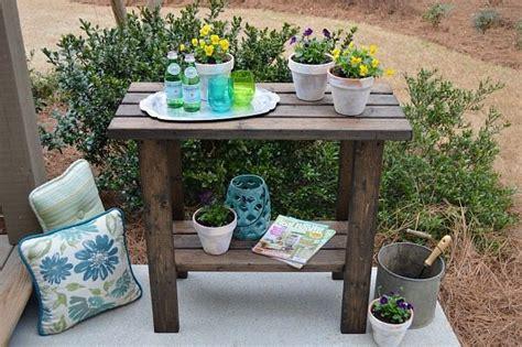 potting bench plans refresh restyle