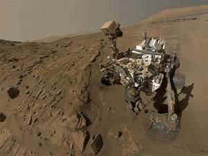 Curiosity Rover Mars NASA Alien Landscape Robot Machine HD ...