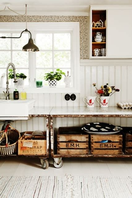 vintage wooden kitchen island designs digsdigs