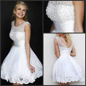 china beach bridal wedding dresses lace short party prom With short lace wedding dresses