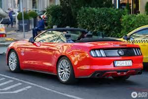 Ford Mustang GT Convertible 2015 - 16 October 2017 - Autogespot