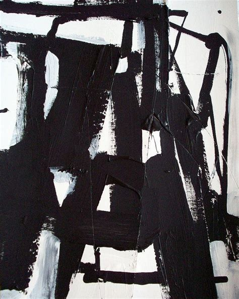 Abstract Painting Black And White by Original Geometric Black And White Modern Abstract