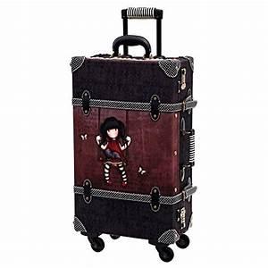 Valise Vintage Pas Cher : gorjuss valise vintage 69 cm 36 l marron ~ Teatrodelosmanantiales.com Idées de Décoration