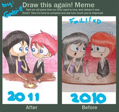 Draw This Again Meme Fail - draw this again meme c by gabiegaga91 on deviantart
