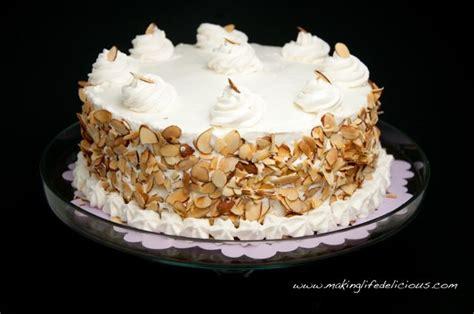Italian Wedding Cake Aka Cream Cake Aka Rum Cake Livin