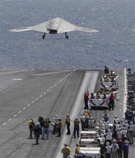 Us Navy Completes First Uav Carrier Based Landing
