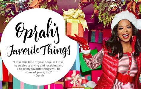 oprah s favorite things holiday gift list for 2016