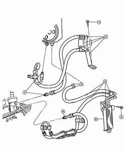 Jeep Liberty Used For  Hose And Cooler  Power Steering