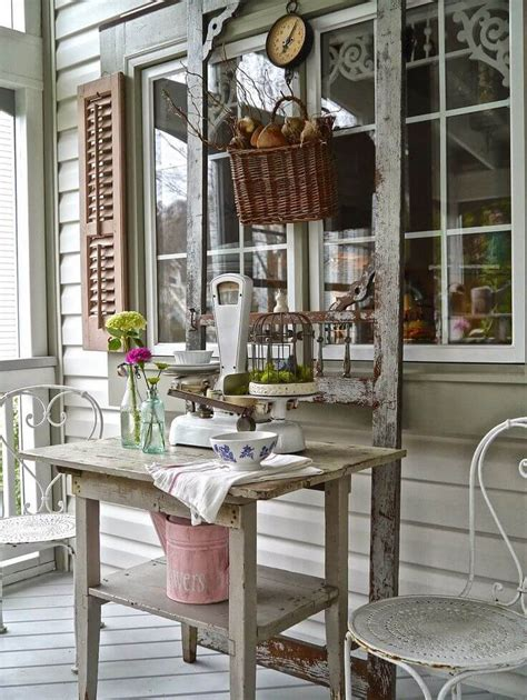 Best Vintage Porch Decor Ideas Designs For