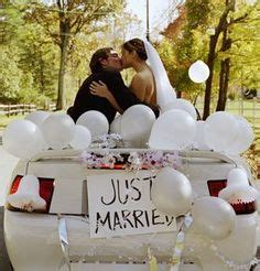 just married on vintage cars just married car and cars