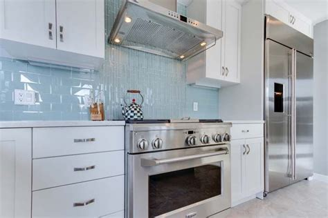 blue kitchen sinks combination of tiles in blue provide contrast and focal 4840
