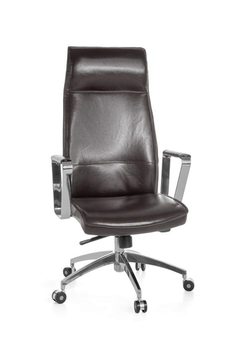 amstyle executive office chair verona real leather