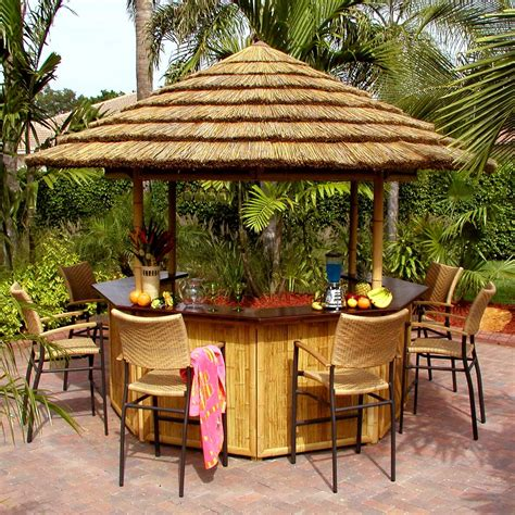 Tiki Bar Products by Tropical Cabanas Tiki Bar Gazebos Concession Stand