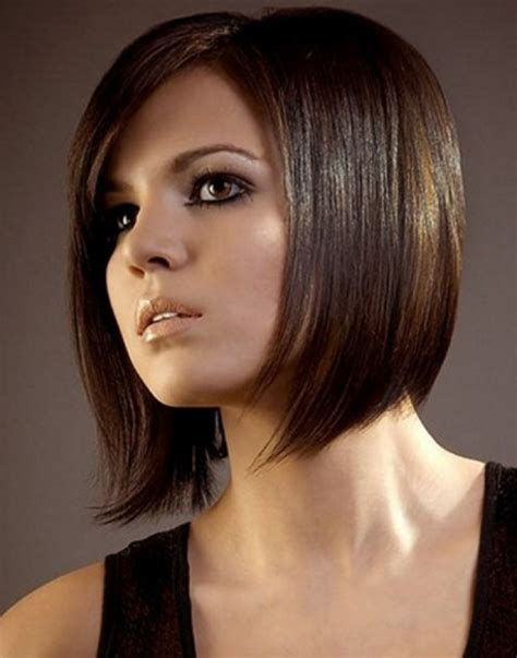 short straight haircut for women short hairstyles 2017