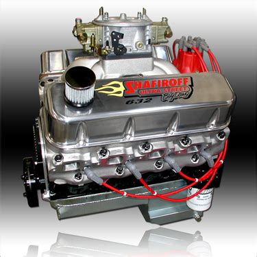 632 Big Block Chevy Ultrastreet Pump Gas Engine