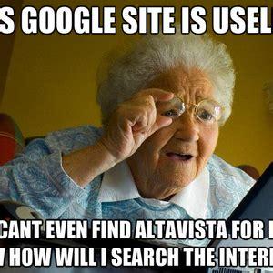 Grandma Computer Meme - image gallery old lady computer meme