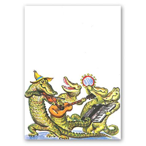 cajun zydeco alligator band invitation mardigrasoutlet com