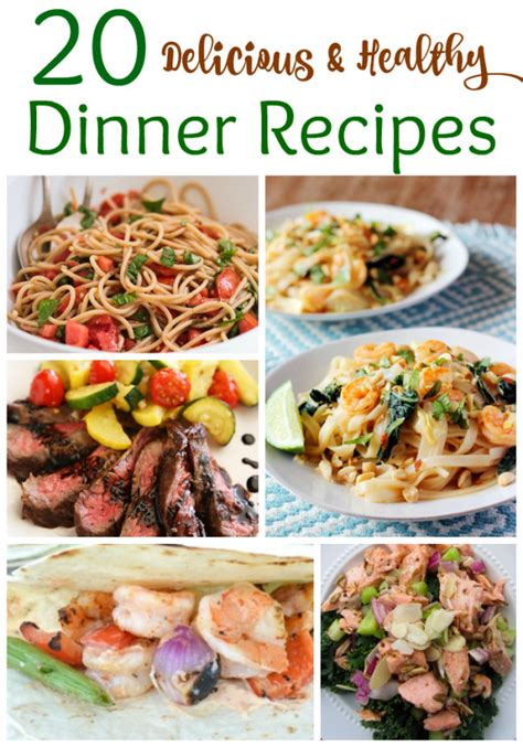 tasty dinner ideas recipes healthy dinner recipes